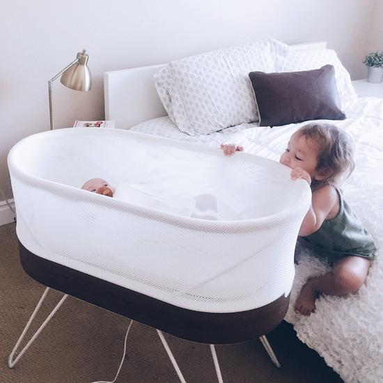 Nanit baby monitor wall mounted