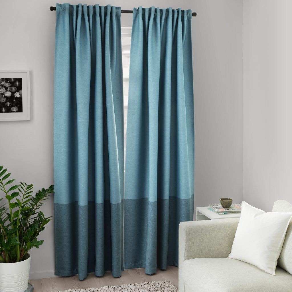 Blackout curtains by IKEA